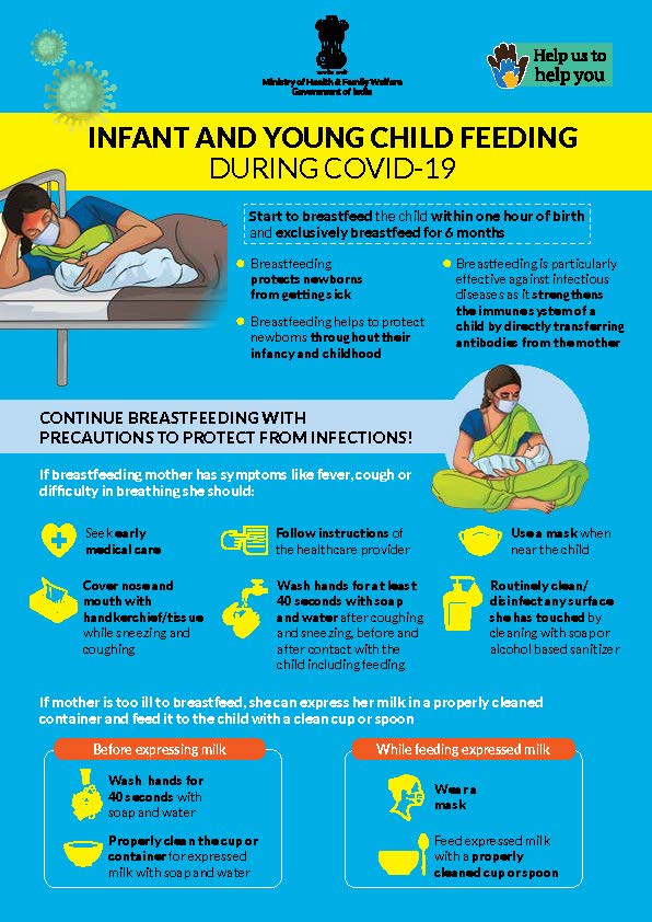 India poster COVID guidance