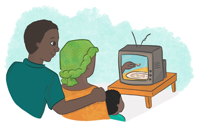 well-made soap operas could affect complementary feeding